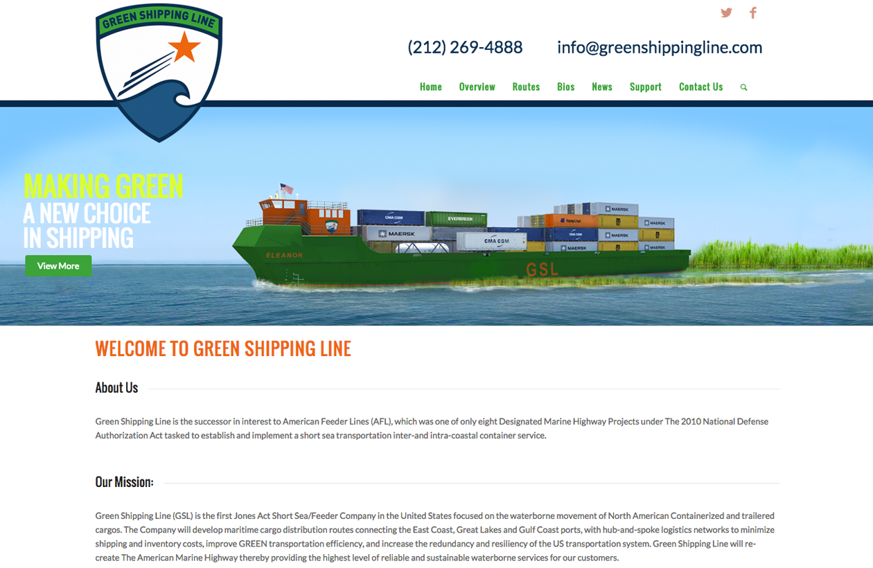 greenshippingline.com